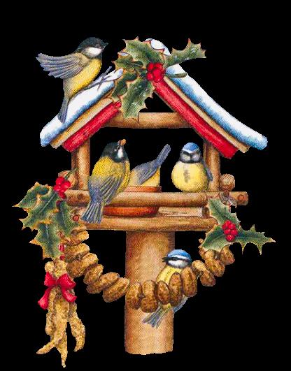 tubes noel oiseaux karten weihnachtskarten. Black Bedroom Furniture Sets. Home Design Ideas