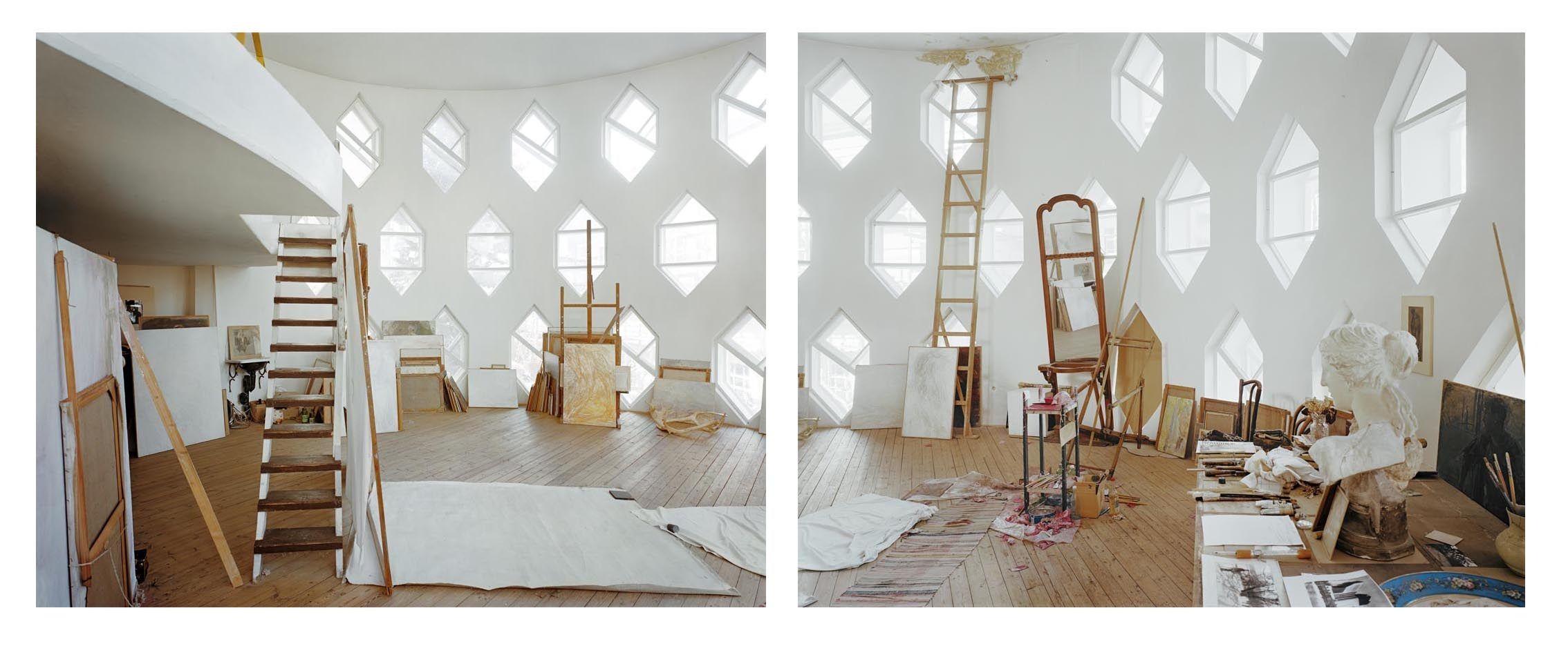 Konstruktivismus Architektur: Melnikov-House-Moscow