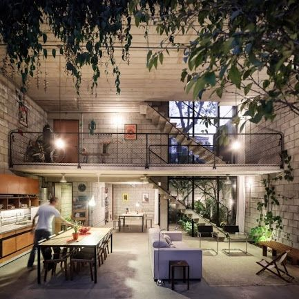 Homes with Small Courtyards- For More Visit: http://www.home-designing.com/2012/11/homes-with-small-courtyards
