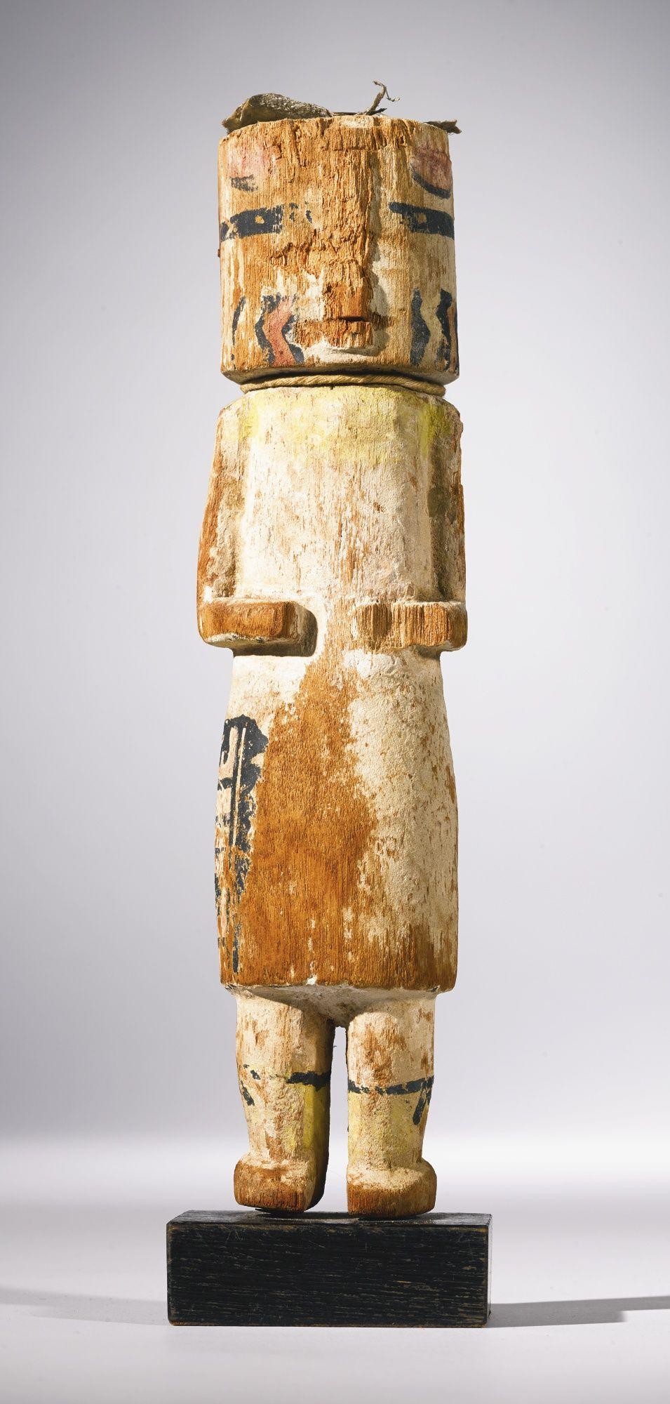 Hopi Polychromed Wood Kachina Doll Lot Sotheby's Poupée