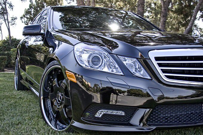 Black Mercedes Benz E350 W212 Mercedes Benz E350 Mercedes Benz