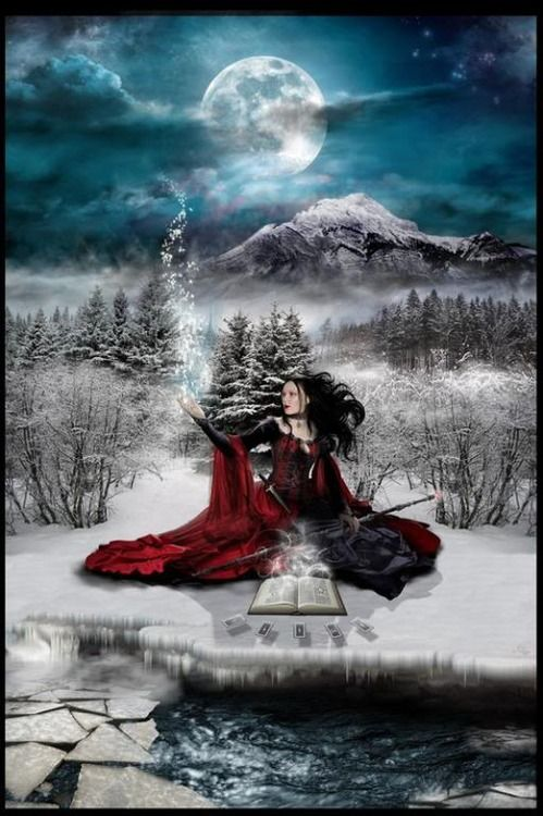 Full Moons January Cold Moon Moon After Yule February