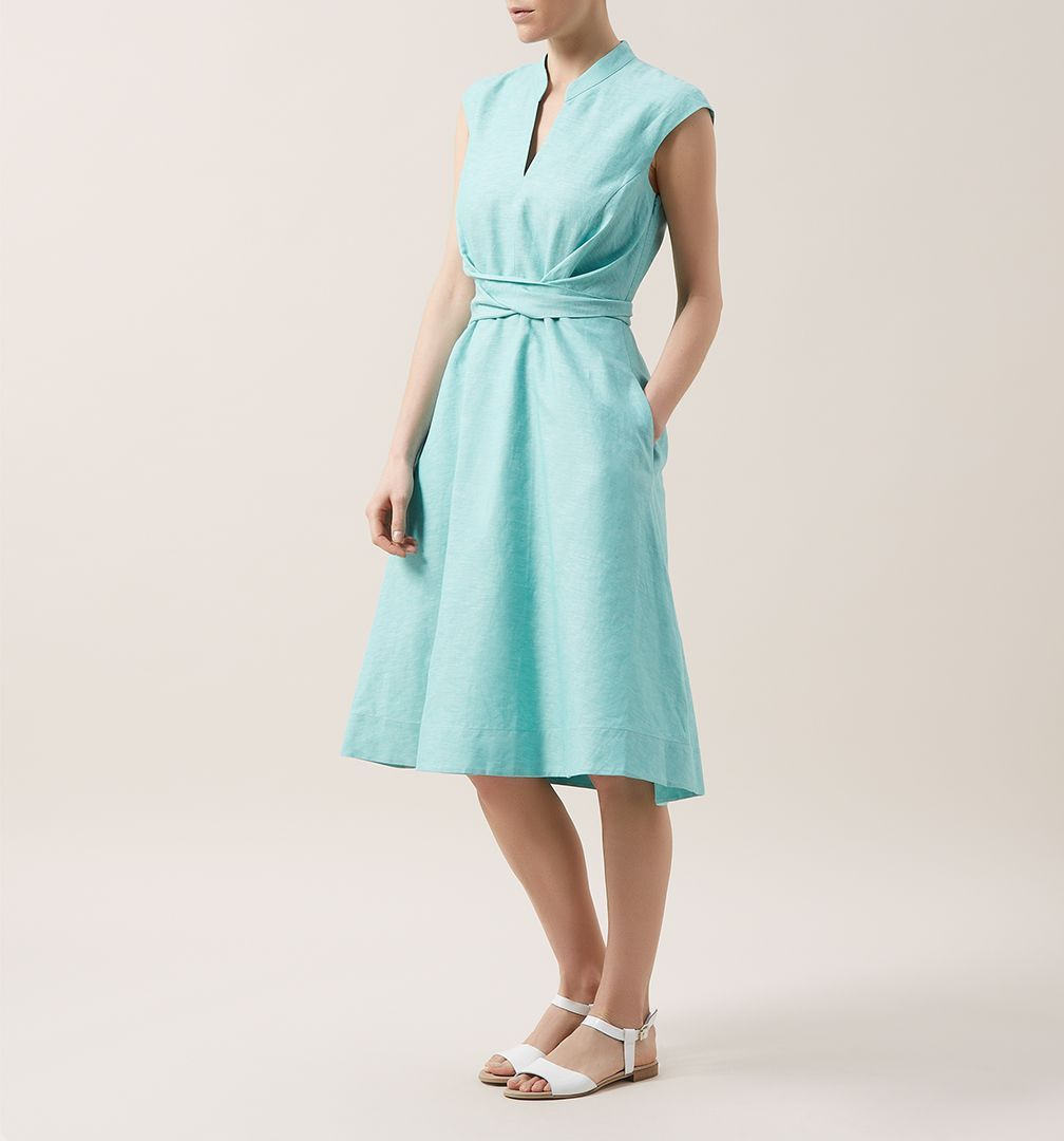 Hobbs Fit and Flare Dainty Dress, £79 | I-SPY clothes | Pinterest ...