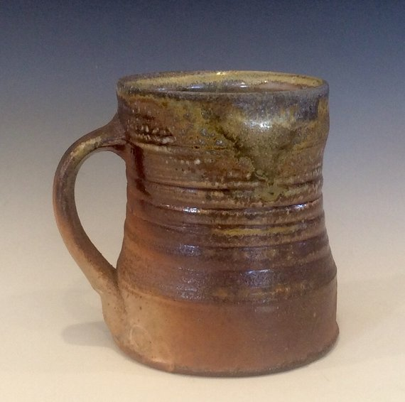 Island Oasis Clay in Motion Handmade Ceramic Large Mug 20oz