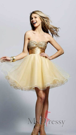 Hollywood Star Theme Prom Dress