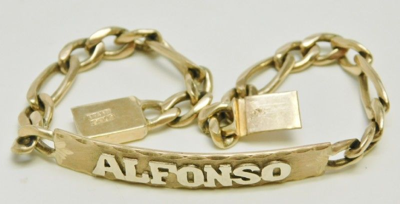 Mexican Bracelets With Names Gold Di 2020