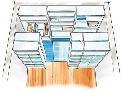 der begehbare wandschrank selber machen heimwerkermagazin einrichtung pinterest. Black Bedroom Furniture Sets. Home Design Ideas
