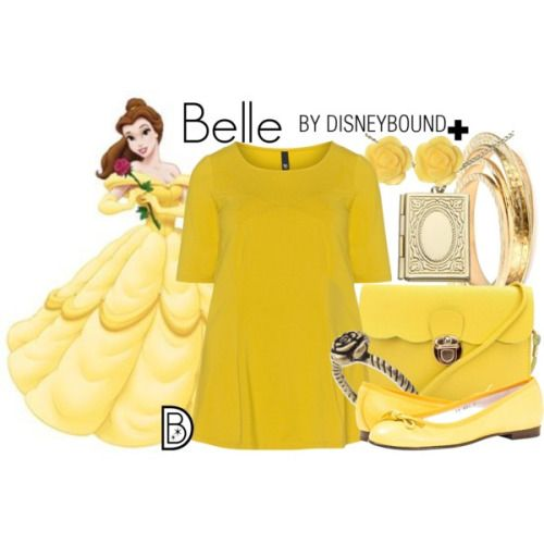 Disney Bound: Belle from Disney's Beauty and the Beast