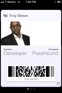 Passbook is my new business card business cards passbook is my new business card colourmoves