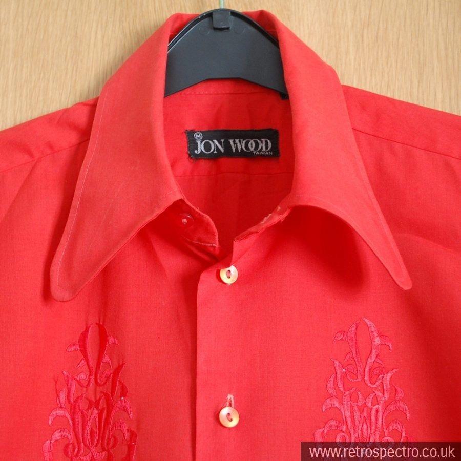 Jon Wood Beagle Collar Shirt Shirts Collar Shirts Clothes