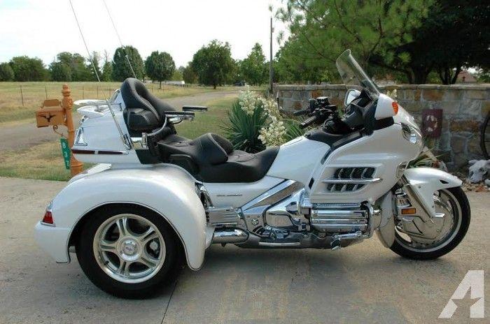 2008 Honda Goldwing Gl 1800 Motocicleta Triciclo Motos Geniales Vehiculos 4x4