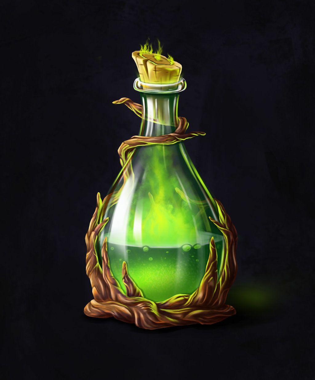 Poison Potion Bottle