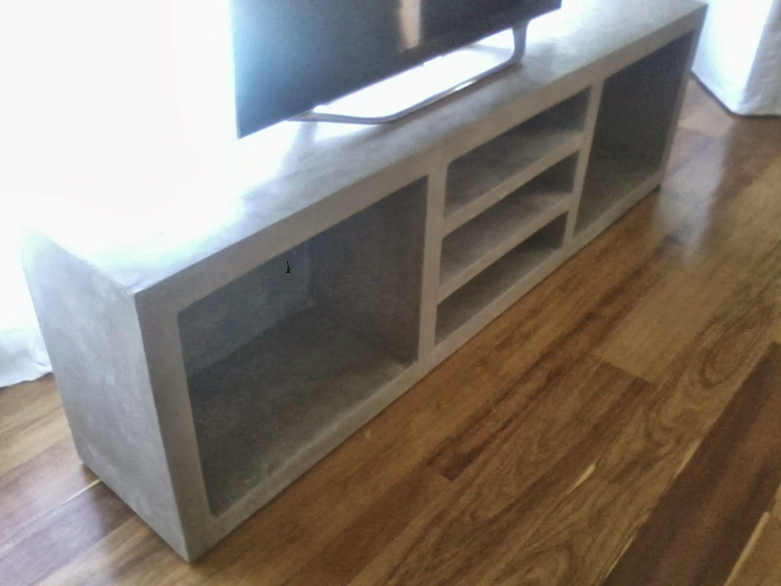 Muebles En Cemento Light Estilo Ribera Repisa De Cemento  # Muebles Cemento Liviano