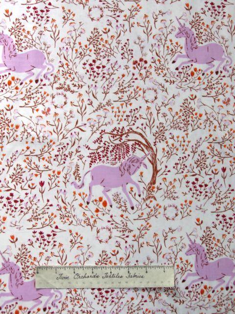 Windham Fabrics Fat Qtr Far Far Away Unicorn Blue Cotton Quilting Fabric