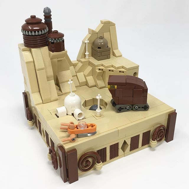 New MOC: Tiny Tatooine! This micro build combines some of my ...