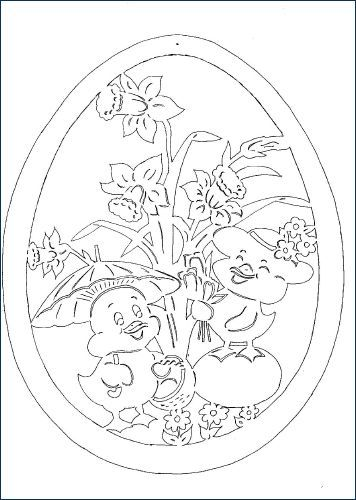 Pin on Easter cuttings/Velykiniai karpiniai