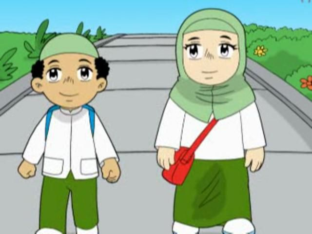 Gambar Kartun Anak Muslim In 2019 Pinterest Muslim Islam And