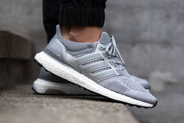 buy online 09a83 40c95 adidas-ultra boost-grey-on foot