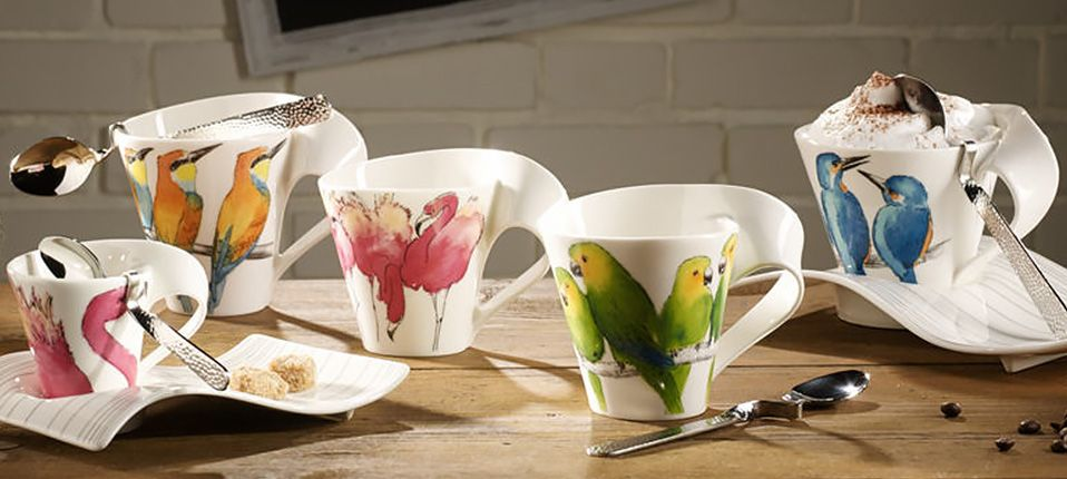 Villeroy En Boch Servies New Wave.Villeroy Boch New Wave Caffe Collection Animals Of The World