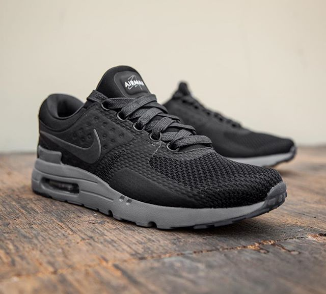 These are the Nike Air Max Zero running shoes in black, which is hopefully  one