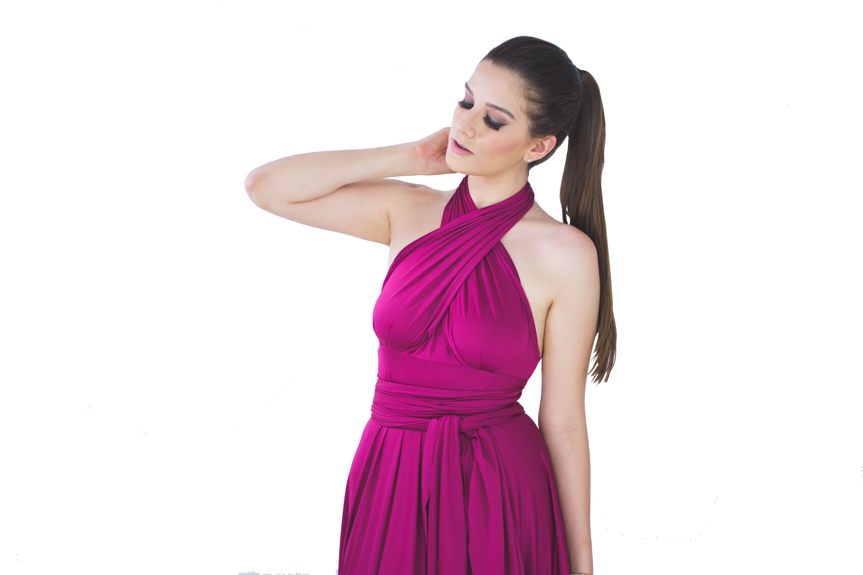 Atractivo Vestidos De Dama De Envoltorio De Múltiples Inspiración ...