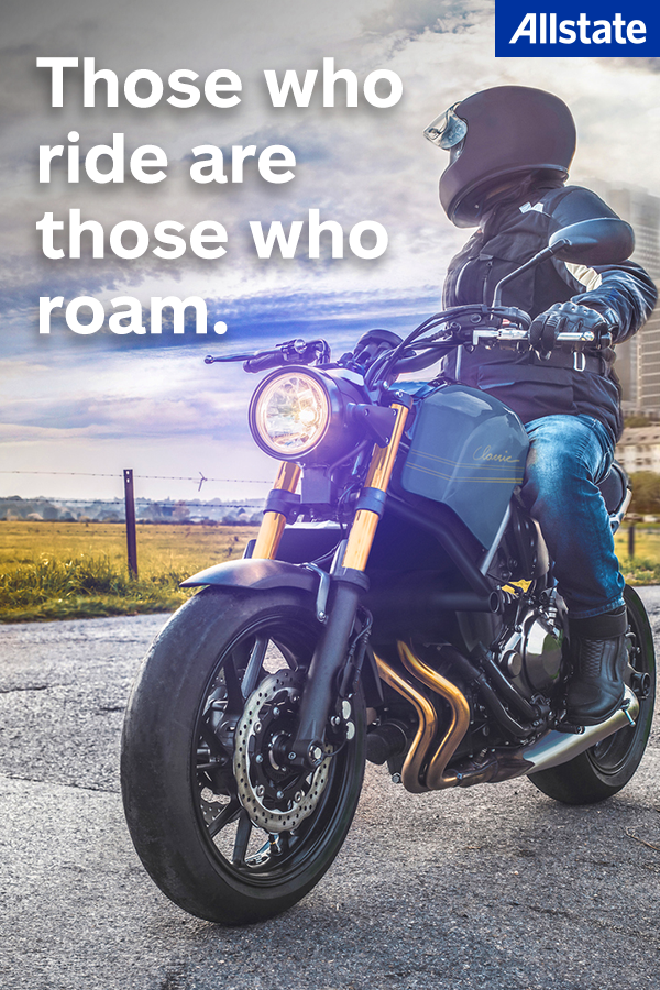 Wherever The Road Takes You Allstate Motorcycle Insurance Has