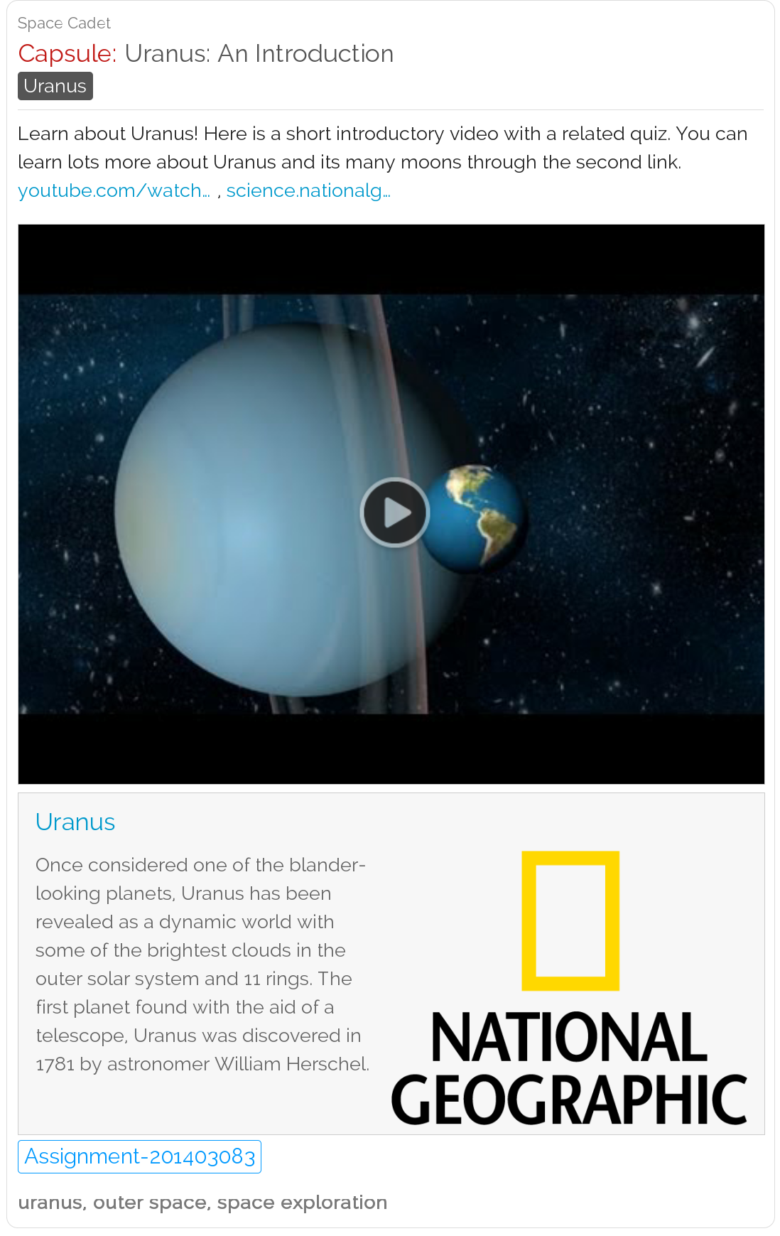 Learn About The Chilly Planet Urand Its Many Moons