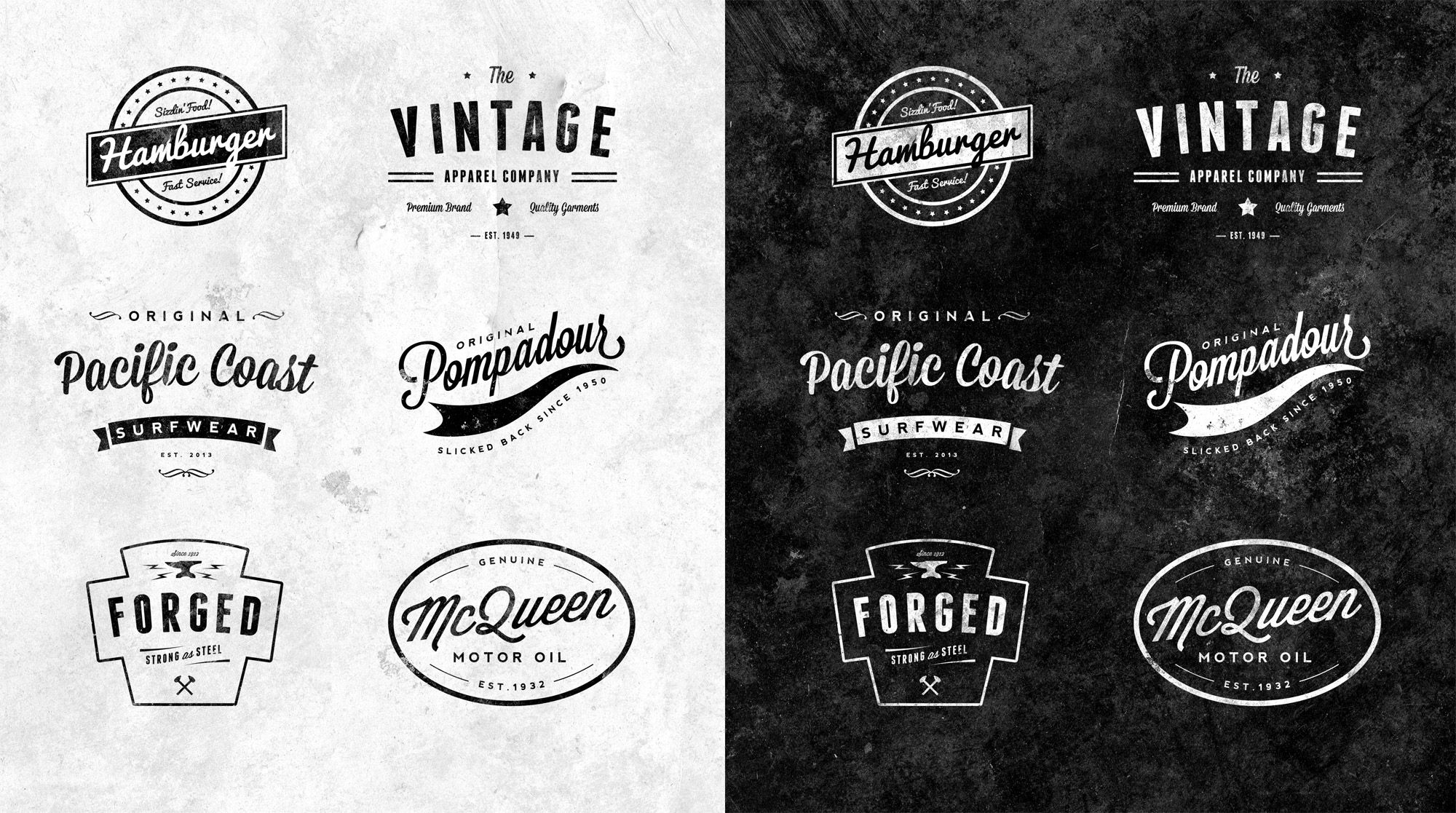 Do you want a Retro - Vintage Logo Badge for your Website ...
