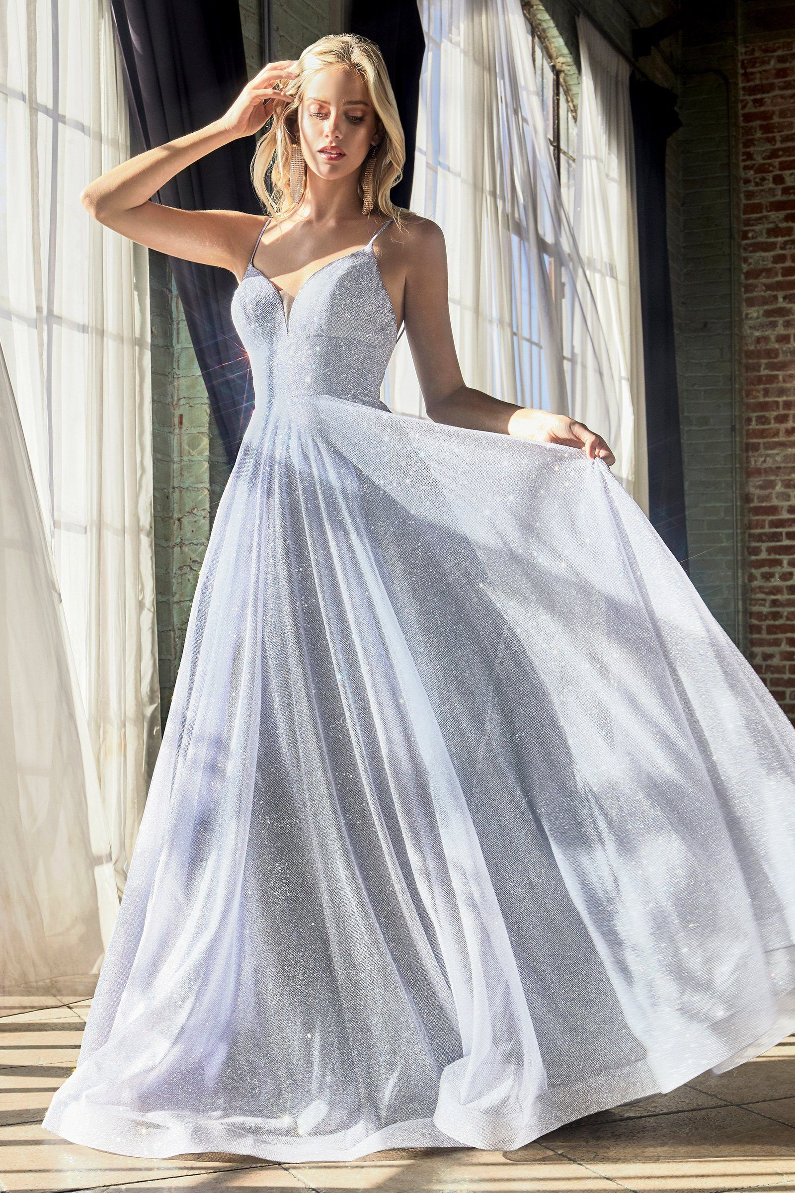 Long Sleeveless Glitter Dress By Cinderella Divine Cd205 Stunning Prom Dresses Cute Prom Dresses Prom Dresses [ 2400 x 1600 Pixel ]