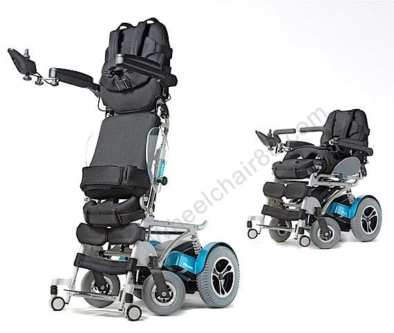 phoenix is top of the line power standing wheelchair that is so