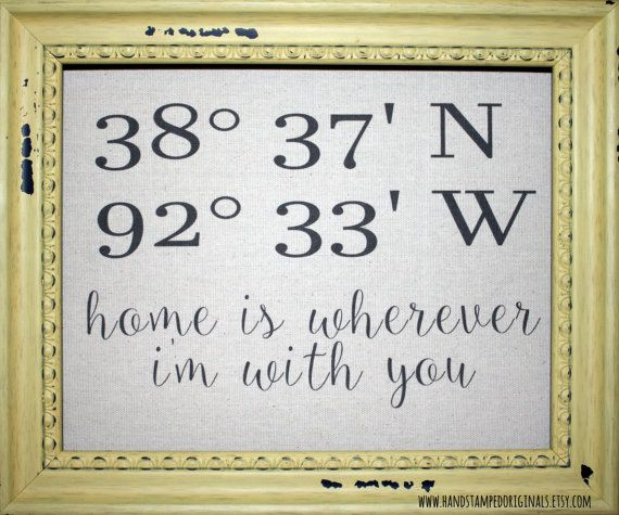 Personalized Linen Print Longitude by HandstampedOriginals on Etsy
