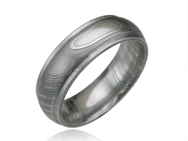 Andrews Jewelers Buffalo NY Mens Damascus Steel Wedding Bands