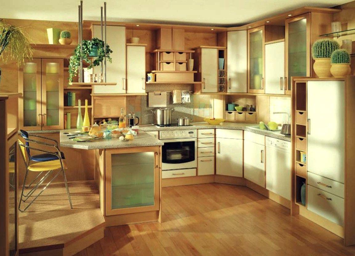 Revestimiento de madera para la cocina: pisos, muebles y molduras ...