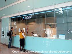 Bureau De Change At Barcelona Airport