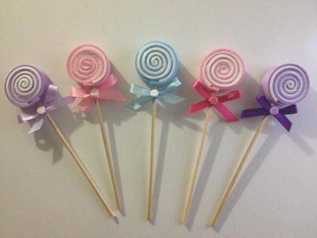 fa79a3a6e adornos de foami para baby shower   Foamy   Baby shower souvenirs ...