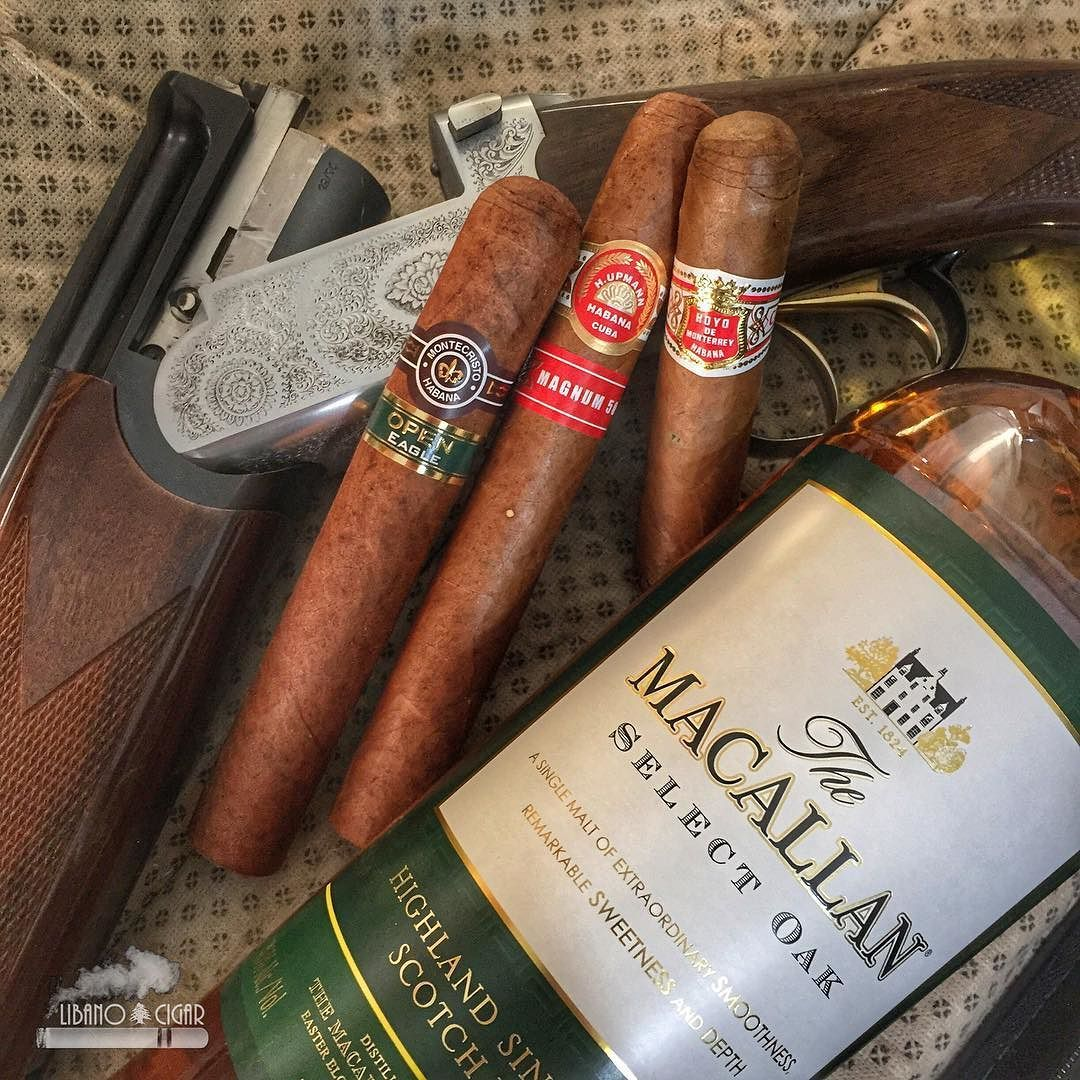 Let\'s shoot something smoke something and drink something Cigar ...