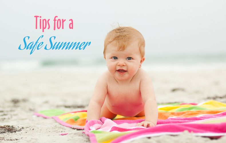 Tips For A Safe Summer Lil Teethers Baby Skin Care Baby Portraits Baby