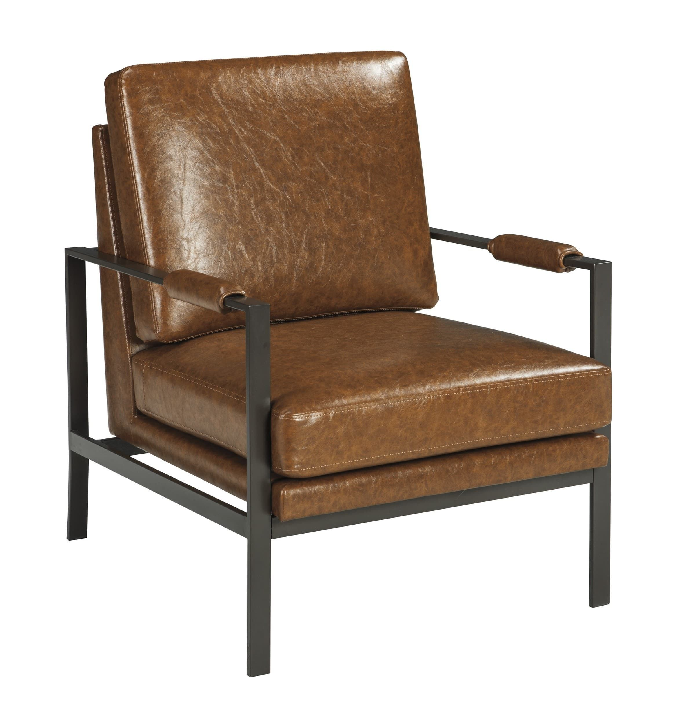 Signature Design By Ashley Peacemaker Brown Accent Chair Reviews