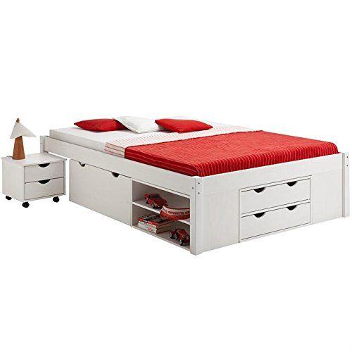 lit double fonctionnel avec rangements