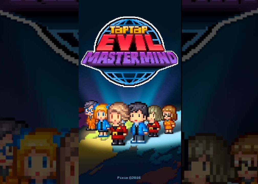 Tap Tap Evil Mastermind Pixel Idle Clicker Money Mod