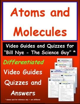 28+ Bill nye the science guy atoms and molecules worksheet answers Info