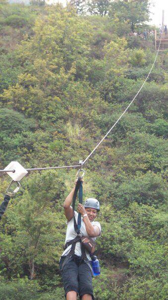 Zip Lining In Maui The 1st Time Ziplining Maui Tena