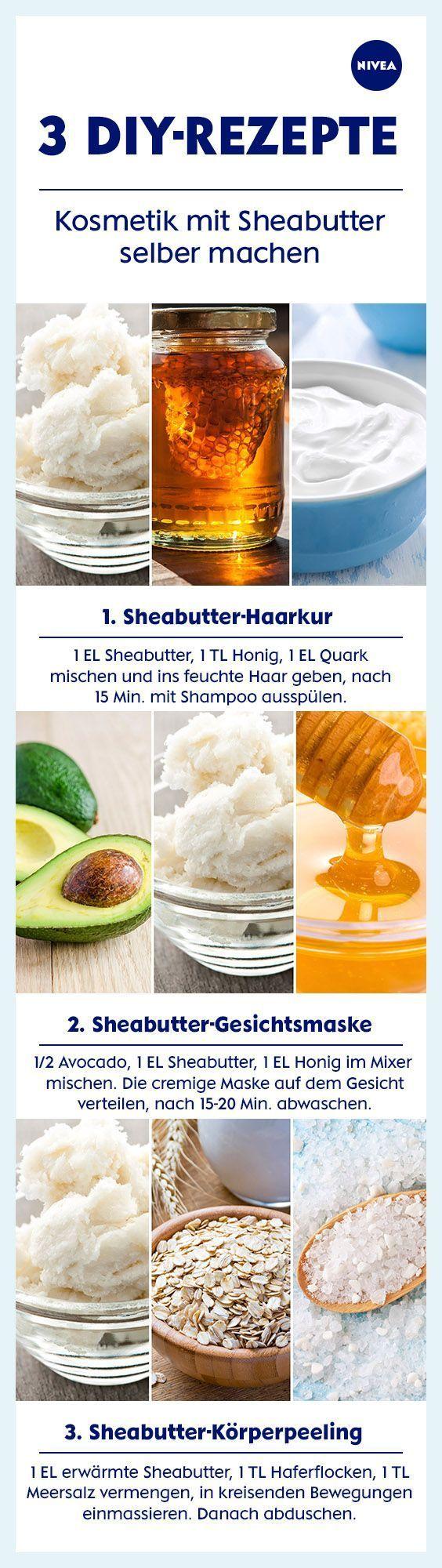 Sheabutter dreimal anders: DIY-Rezepte ausprobieren und von Kopf bis Fuß mit de…