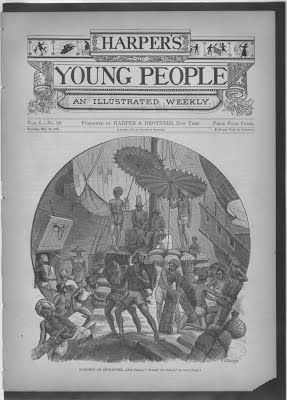 Loading at Singapore Published by Harper's Young People, 1880