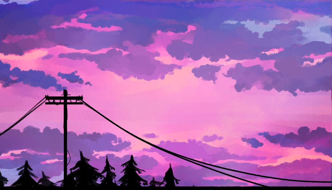 Sky Tumblr In 2020 Aesthetic Desktop Wallpaper Scenery Wallpaper Desktop Wallpaper Art