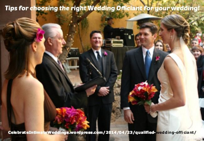 How To Find A Qualified Wedding Officiant Wedding Officiant Wedding Rehearsal Wedding Blog Design