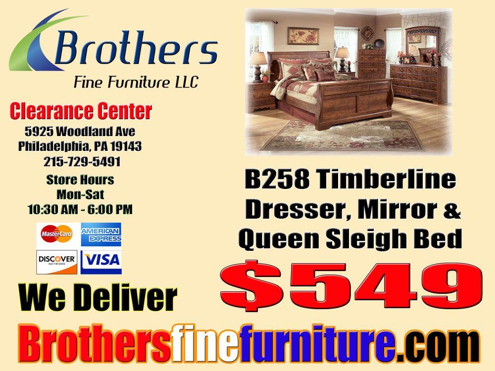 B258 31 36 54 57 96 Timberline Dresser Mirror