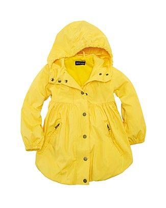 ebaa87c5 Ridiculously cute!!! Ralph Lauren Toddler Girls' Raincoat | My ...