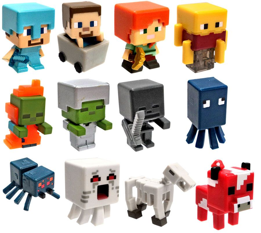 Minecraft Toys And Mini Figures For Kids : Win a minecraft netherrack series set of all mini