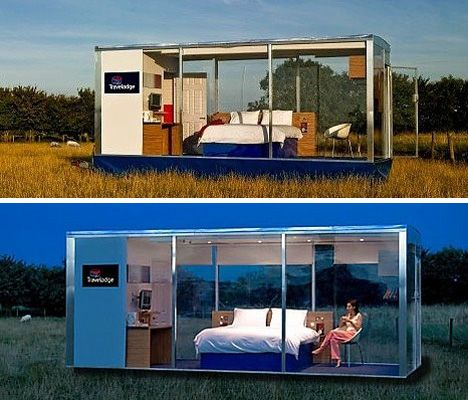 Container Rooms travelodge travelpod hotel room concept | my yoga retreat centre